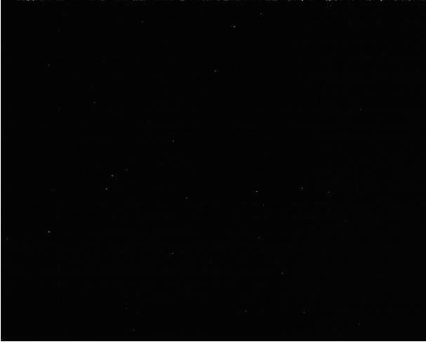 Caméra CCD PLa-Mx I-Nova. Pixels chauds Captur10