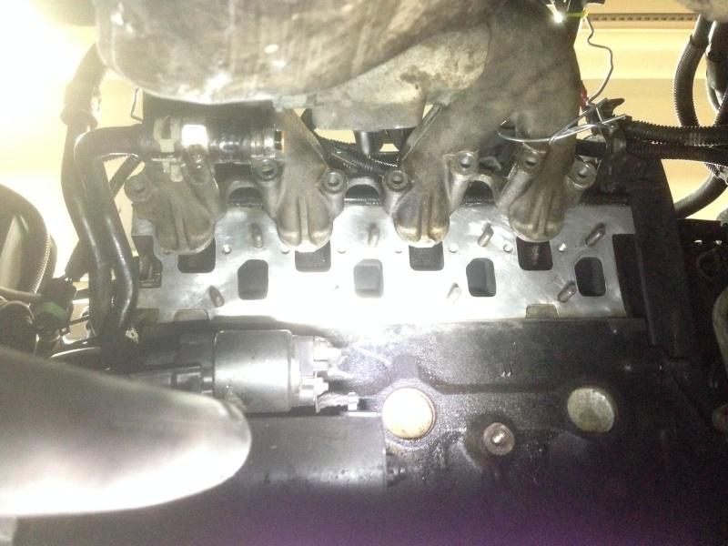Tuto : changer collecteur d'échappement 2.5L essence  Cullas10