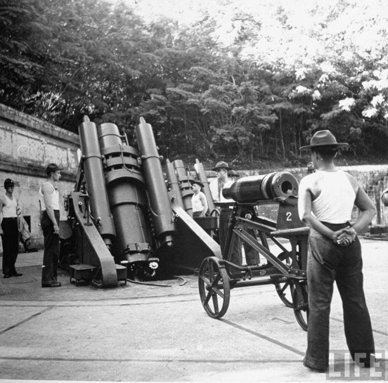 Artillerie cotiere lourde US dans le pacifique A_batt29