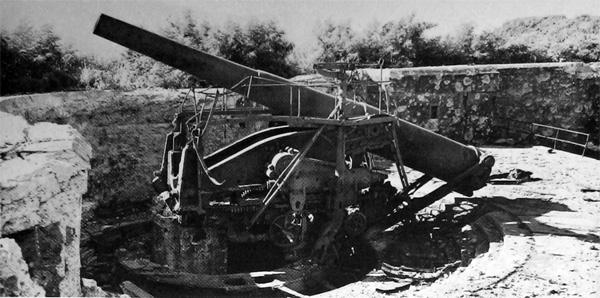Artillerie cotiere lourde US dans le pacifique A_corr10