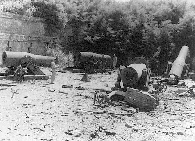 Artillerie cotiere lourde US dans le pacifique A_corr11