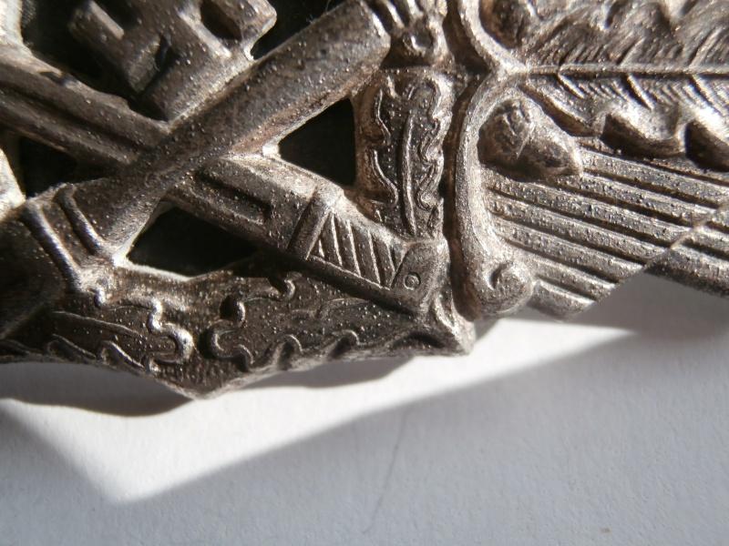 barette des combats au corps a corps classe argent FLL P2071212
