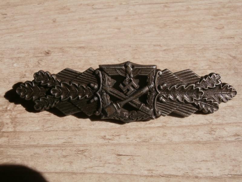 barette des corps a corps bronze FLL P3101218