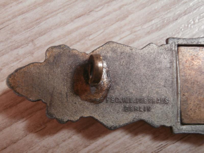 barette des corps a corps bronze FLL P3101220