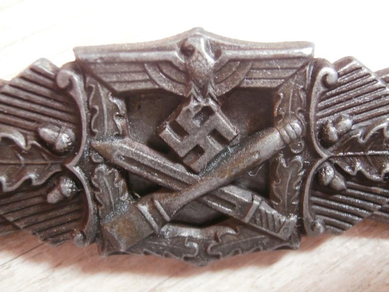 barette des corps a corps bronze FLL P3101223