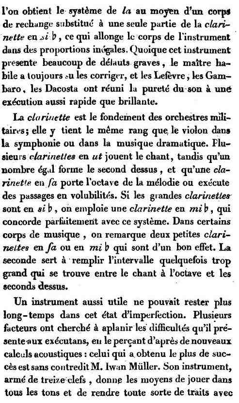 La première moitié du XIX Siècle Clarin11