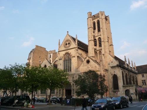 Eglise St.Nicolas des Champs, Teev Ntuj rau cov neeg mob nyob Paris 3_faca10