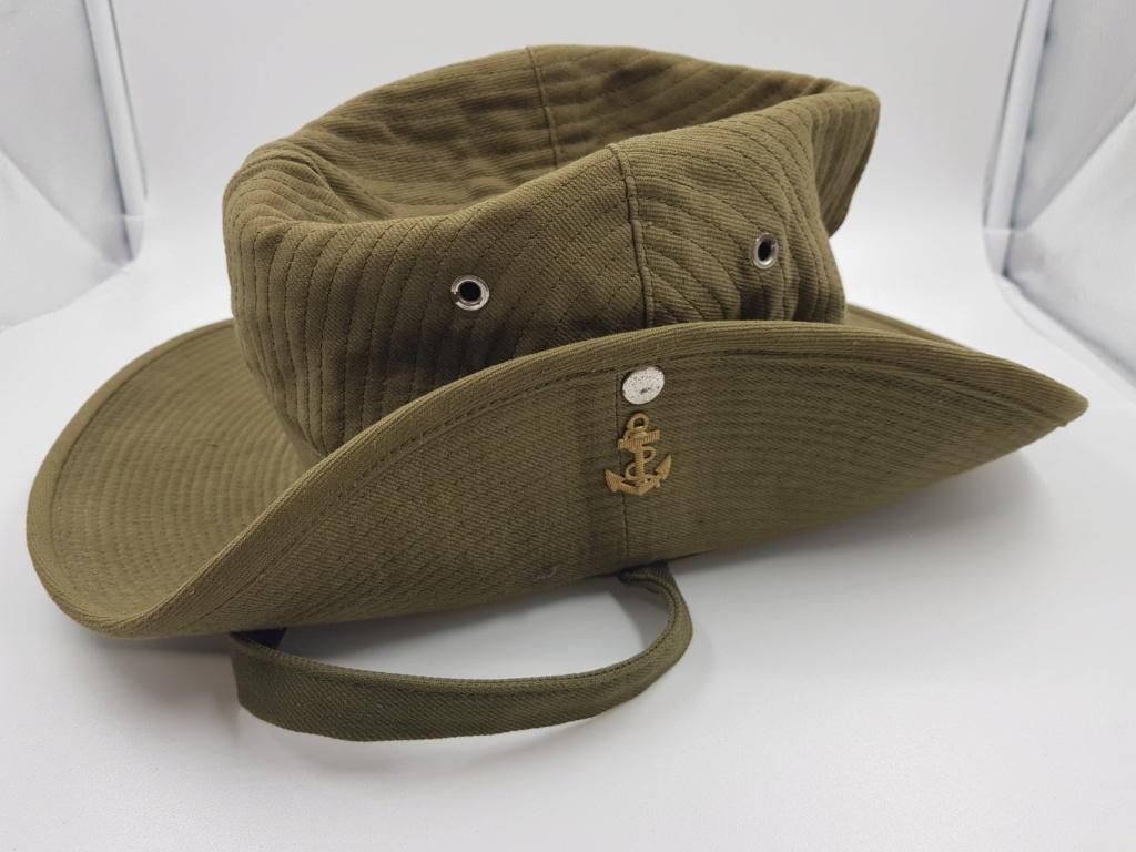Calot et chapeau de brousse. 20190630