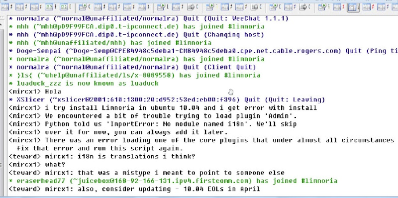Guide install Limnoria SupyBot on Ubuntu 10.04 12-03-11