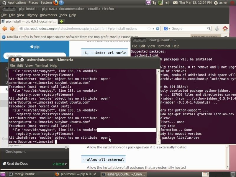 Guide install Limnoria SupyBot on Ubuntu 10.04 Screen10