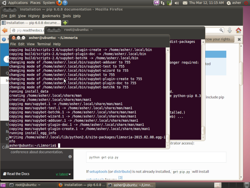 Guide install Limnoria SupyBot on Ubuntu 10.04 Screen13