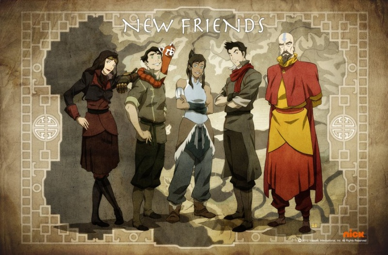Avatar, the legend of Korra New-fr10