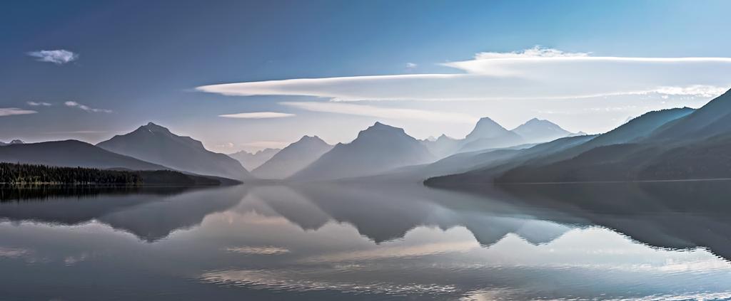 Parc des glaciers US: Lac McDo Lac_mc10