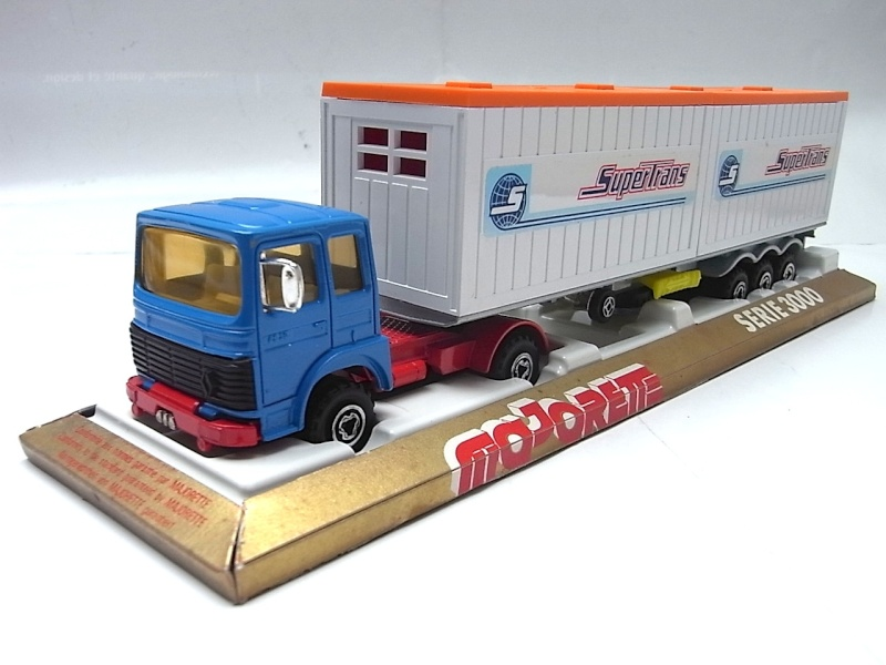 """N°3062 RENAULT SAVIEM PS30 2x20"""" DOUBLE CONTAINER  038a10"""