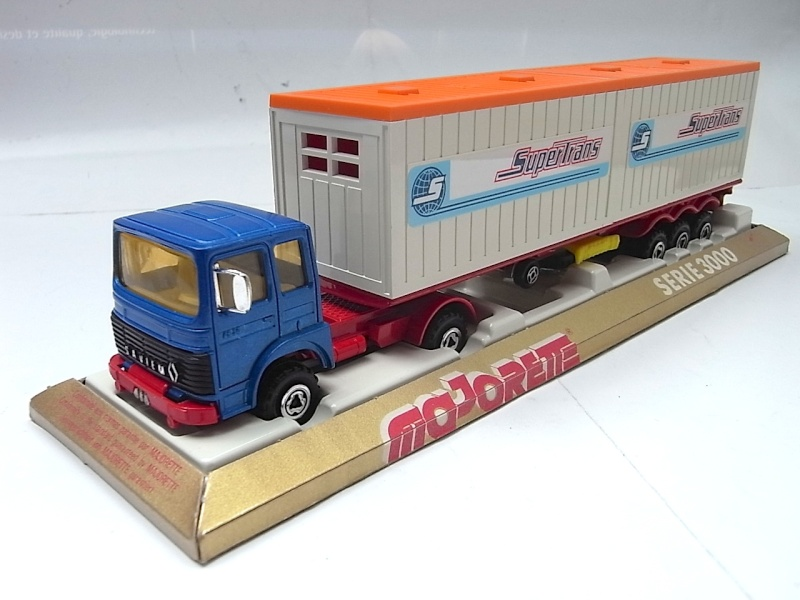 """N°3062 RENAULT SAVIEM PS30 2x20"""" DOUBLE CONTAINER  039a10"""