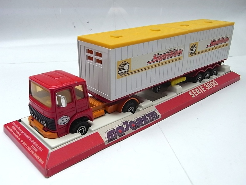 """N°3062 RENAULT SAVIEM PS30 2x20"""" DOUBLE CONTAINER  042a10"""