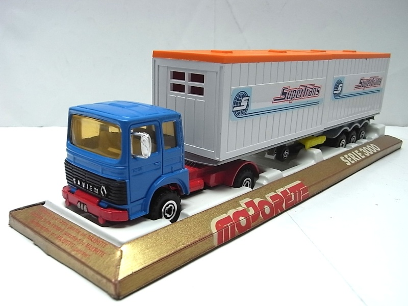 """N°3062 RENAULT SAVIEM PS30 2x20"""" DOUBLE CONTAINER  074a10"""