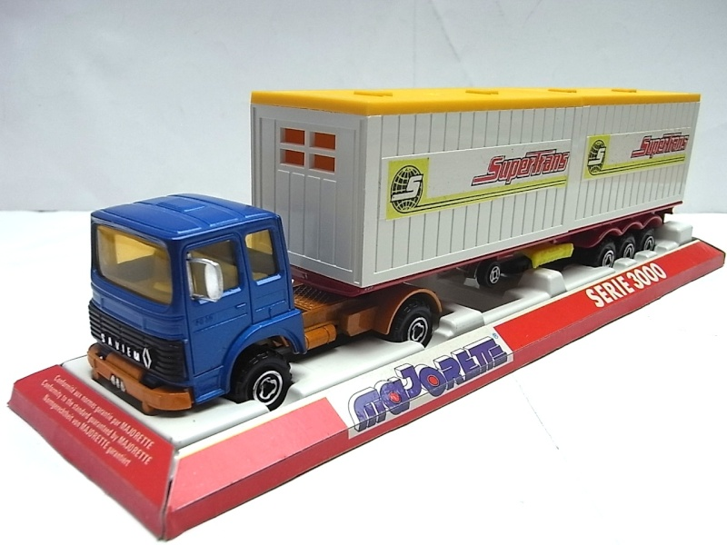 """N°3062 RENAULT SAVIEM PS30 2x20"""" DOUBLE CONTAINER  107a10"""