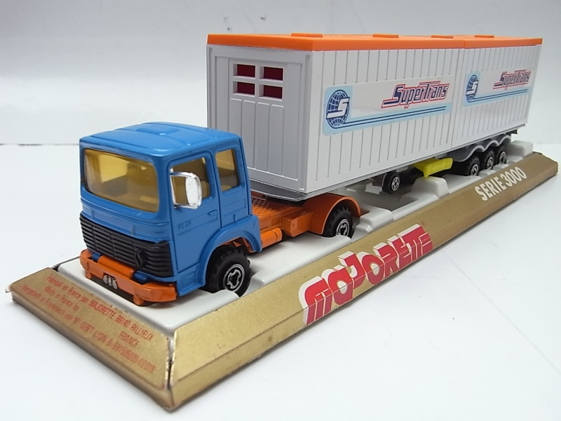 """N°3062 RENAULT SAVIEM PS30 2x20"""" DOUBLE CONTAINER  232a10"""