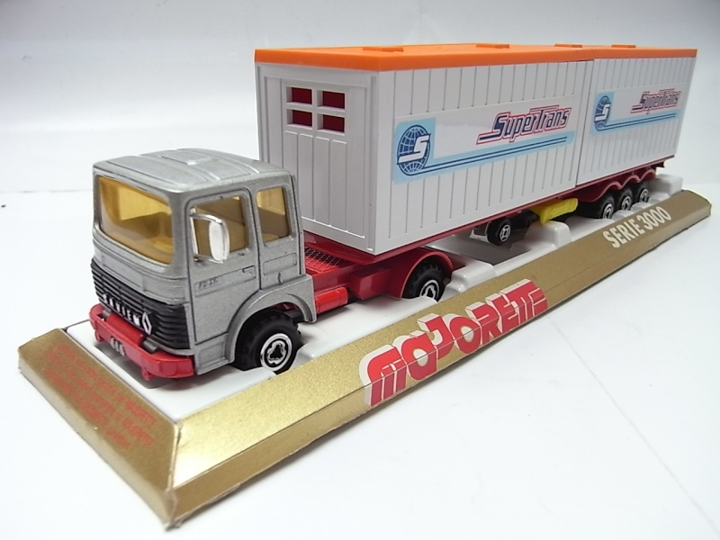 """N°3062 RENAULT SAVIEM PS30 2x20"""" DOUBLE CONTAINER  251a10"""