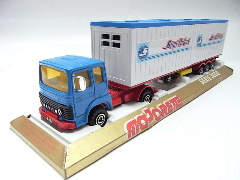 """N°3062 RENAULT SAVIEM PS30 2x20"""" DOUBLE CONTAINER  252a10"""