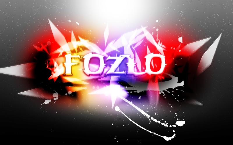 First attempt of a background Fozlo10