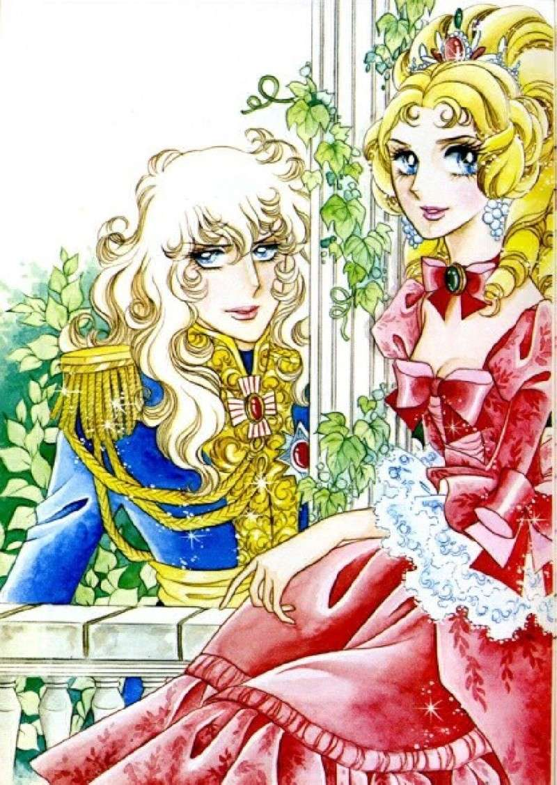 Images de Lady Oscar (film et dessins animée et mangas ) 31-12810