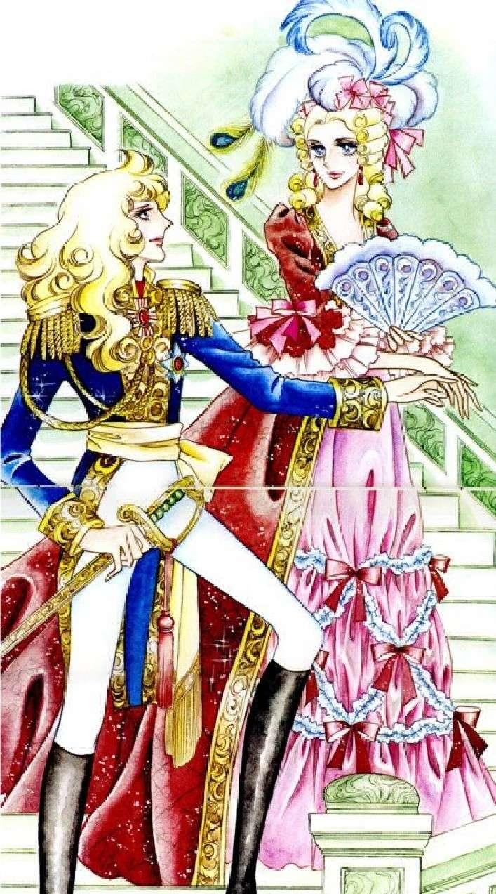 Images de Lady Oscar (film et dessins animée et mangas ) 35-17710