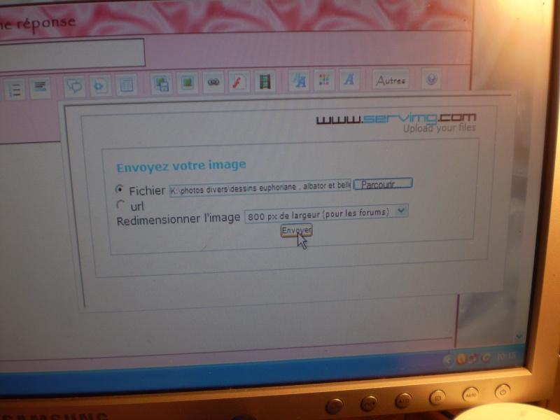 explications pour mettre des images ou vidéos Explic14
