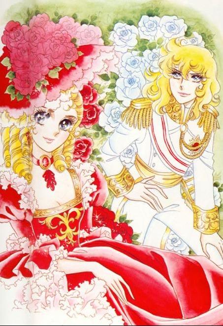 Images de Lady Oscar (film et dessins animée et mangas ) Lady-o14