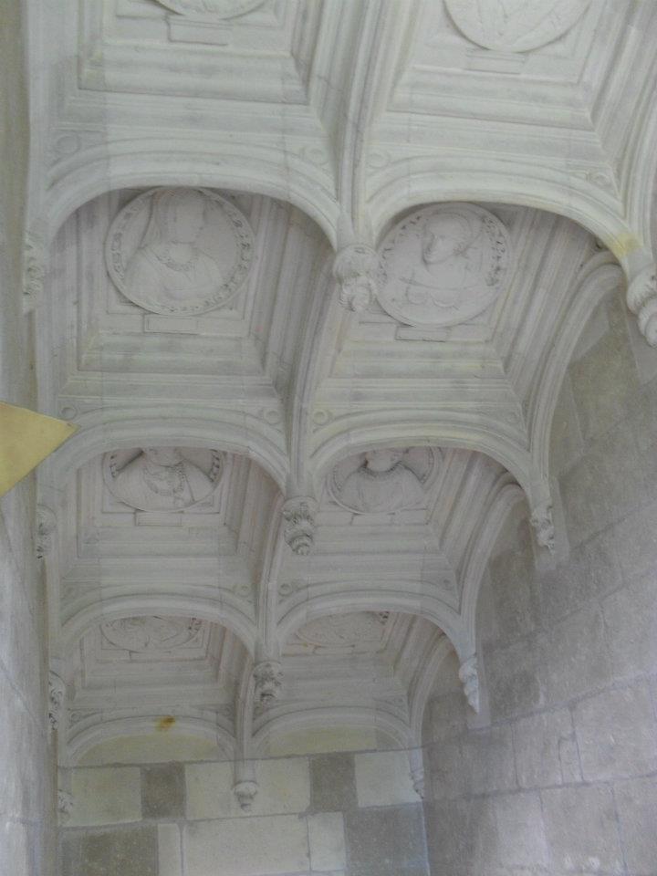 Chateaux de la Loire Plafon10