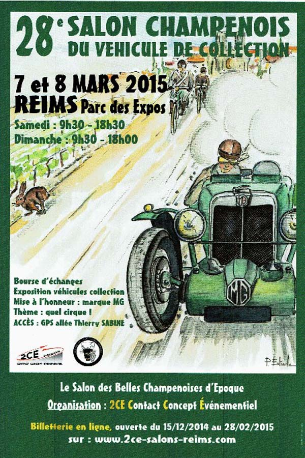 Salon de Reims 7 & 8 mars Affich10