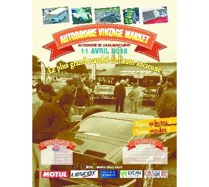 Autodrôme Vintage Market à Montlhéry le samedi 11 avril Cell_c10