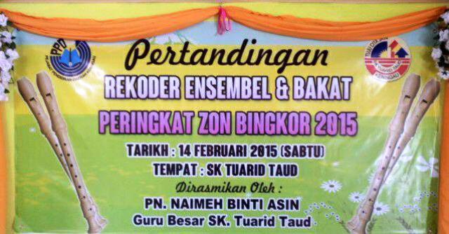 Recorder Ensemble & Bakat -Zon Bingkor (14feb2015) Photo_40