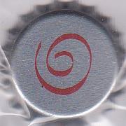 Spirale argentée - Motif doré sur fond bleu Dessin82