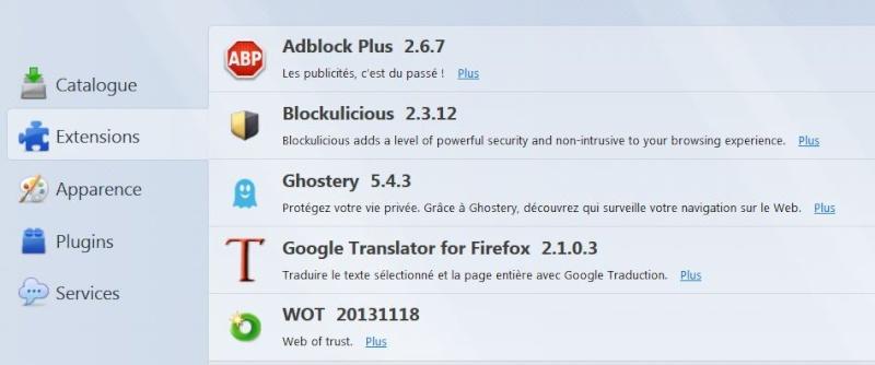Ce qu'il faut savoir sur Mozilla Firefox  Extens10