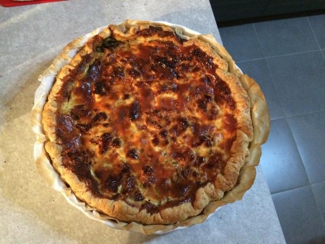 tarte courgette - boursin Courge10