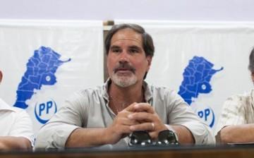 """Almirante Brown.  Claudio Villagra: """"nosotros acompañamos a Cariglino y no al Frente Renovador"""". 00120"""