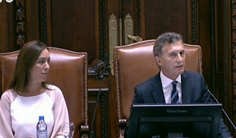 """Mauricio Macri: """"Gobernar es decir la verdad"""" 00141"""