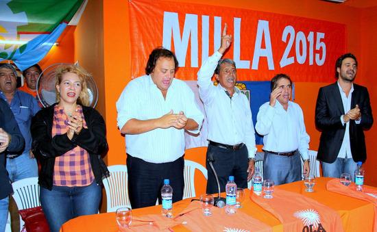 Pedro Milla se lanzó como el referente de Scioli en Campana 00145