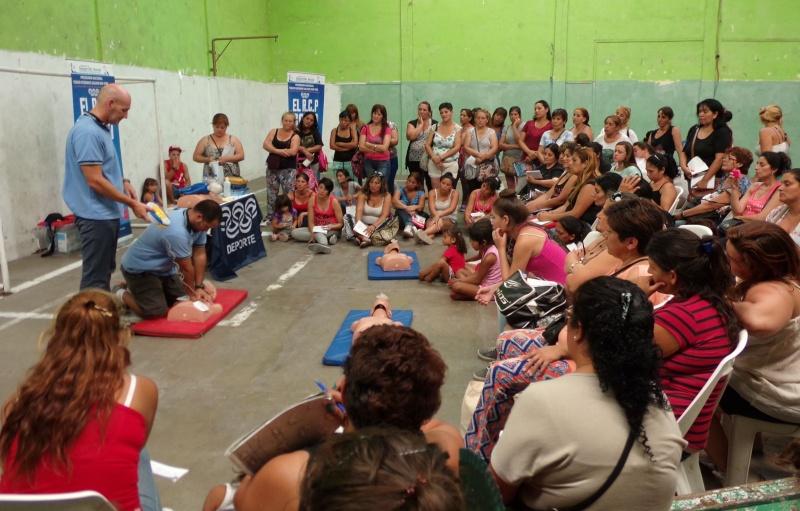 """En Quilmes, """"Todos podemos salvar una vida"""". Resize12"""