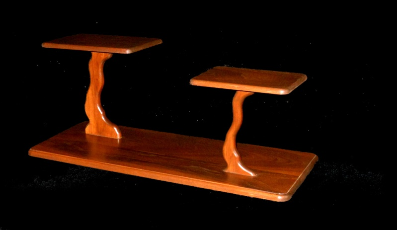 Cherry and walnut stands 2sh48410