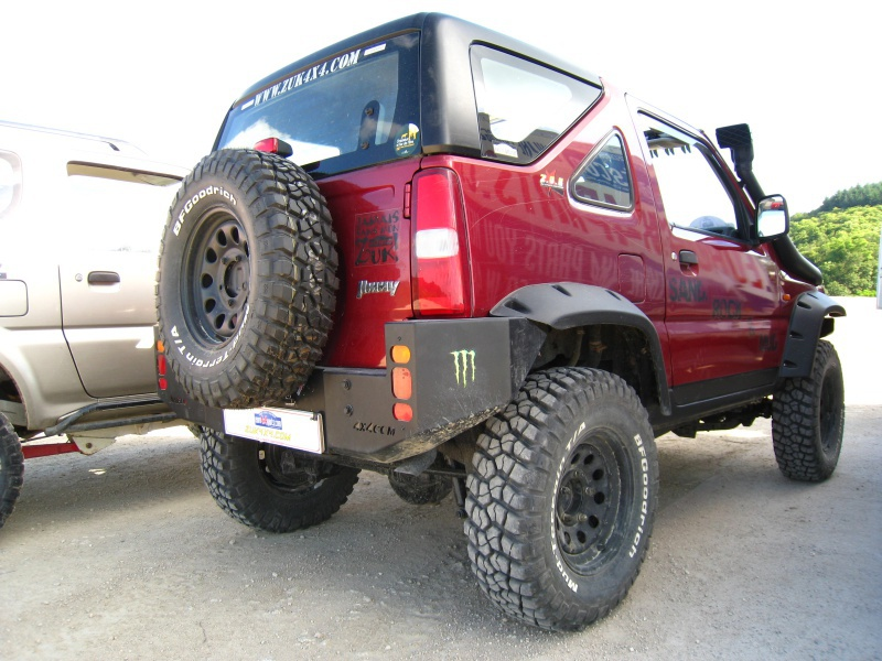 Remplacement extension d'aile Jimny ? Bushwacker ? 94918910