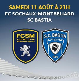Sochaux Bastia 1ère journée de la saison 2012 2013 Bastia10