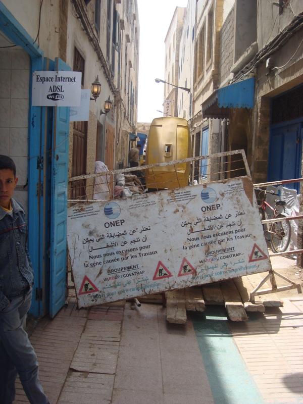 Essaouira n'en finit pas avec les travaux de son réseau d'assainissement Dsc00811