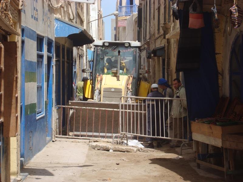 Essaouira n'en finit pas avec les travaux de son réseau d'assainissement Dsc00812