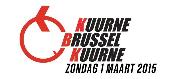KUURNE-BRUSSEL-KUURNE  --B--  01.03.2015 Logo2011