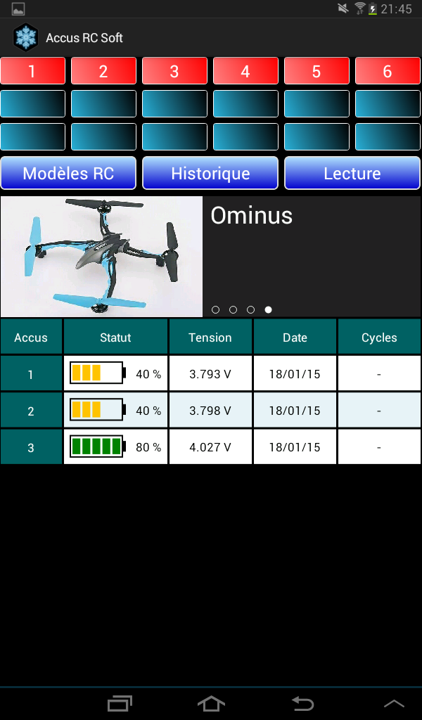 Lipo Manager Screen10