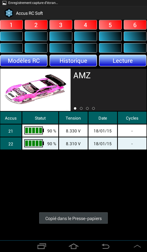 Lipo Manager Screen12