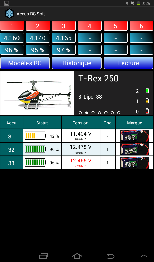 Lipo Manager Screen17